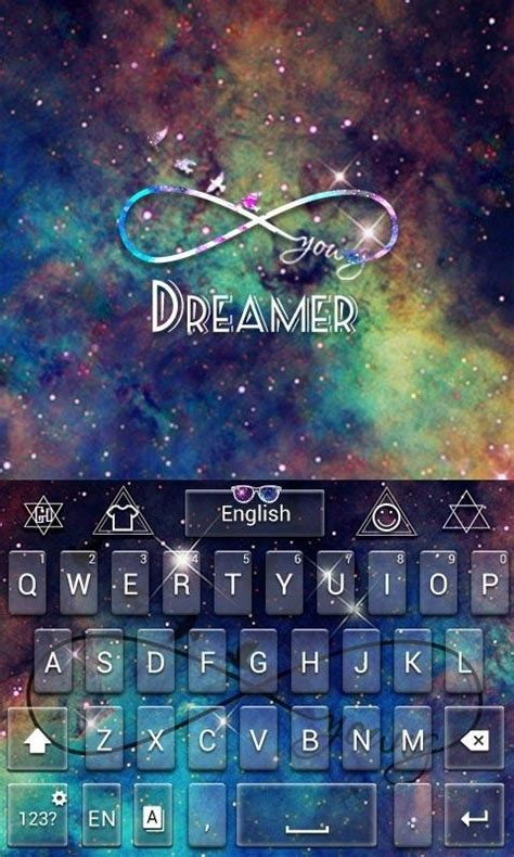 wallpaper for android keyboard dreamer pro go keyboard theme free android keyboard