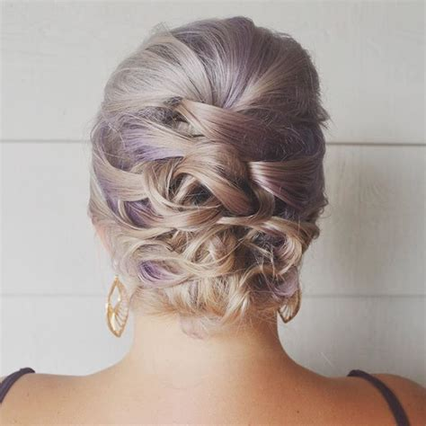 updo hairstyles for fine hair 2015 this updo was done on short fine hair i didn t get a