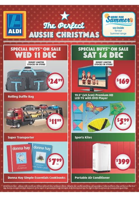 aldi 2013 christmas gifts catalogue