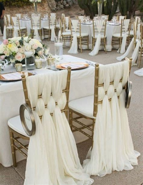 decoration housse de chaise mariage on vous pr 233 sente la housse de chaise mariage en 53 photos wedding mariage and weddings