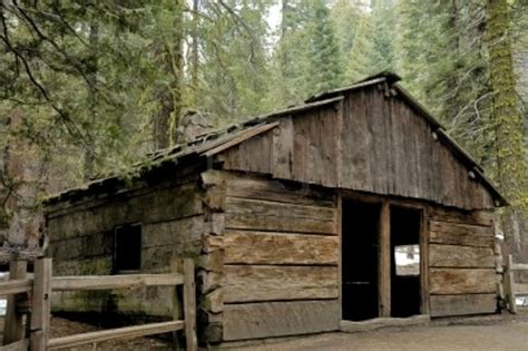 Cabins In Sequoia National Forest by Log Cabin In Sequoia National Forest Made Out Of