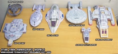 Trek Papercraft - trek papercraft models by ninjatoespapercraft on