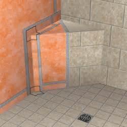 schluter kerdi shower sb 16 in x 16 in triangle corner seat
