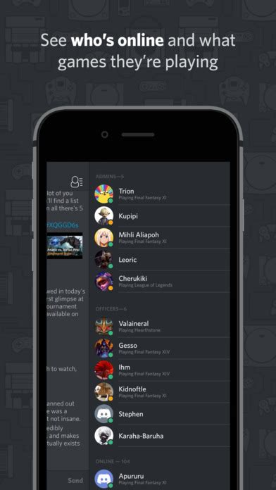 discord for ios discord chat for gamers iphone最新人気アプリランキング ios app