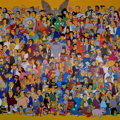 simpsons name pin simpsons characters names and pictures on