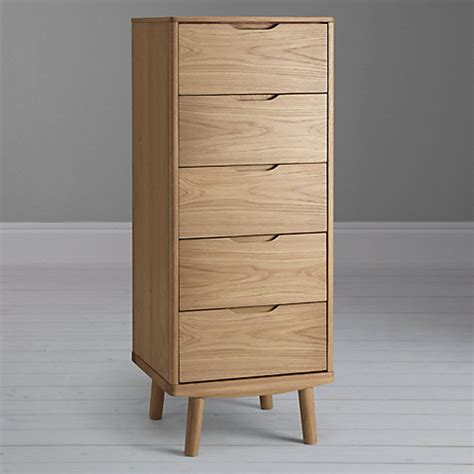 tall boy dresser canada buy house by john lewis bow 5 drawer tall boy chest oak