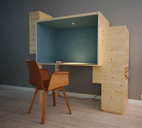 buro woonkamer werkplek voor in woonkamer on behance