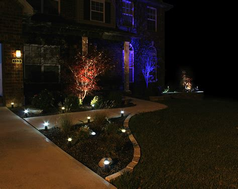 Outdoor Led Yard Lights 3 Watt Rgb Led Landscape Spotlight Led Landscape Lighting Bright Leds