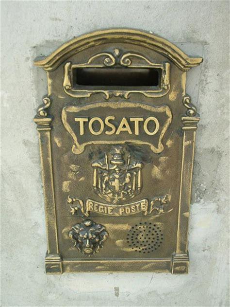 cassette per la posta lavorazione ferro battuto acciaio e bronzo su disegno