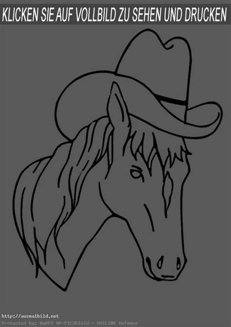 pferde  ausmalbild