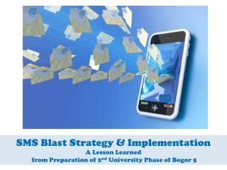 Sms Blast Corporate Presentation - ppt eif national implementation arrangements in nepal