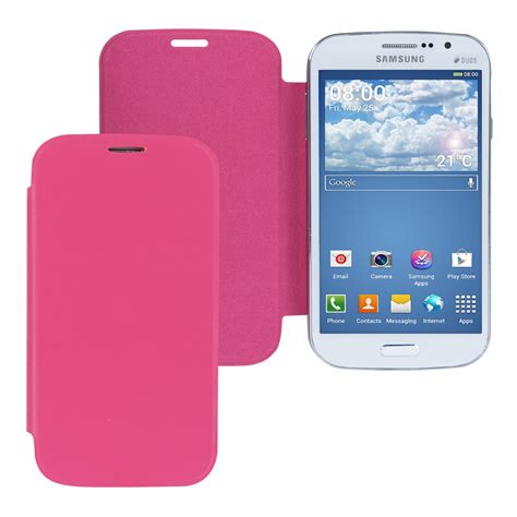 Flipcover Flipcase Ume Samsung Grand Neo kwmobile flip cover for samsung galaxy grand neo grand duos slim back ebay