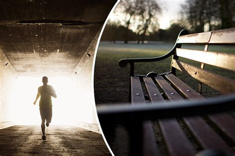 rape bench rochdale gang rape man pinned to park bench in horror
