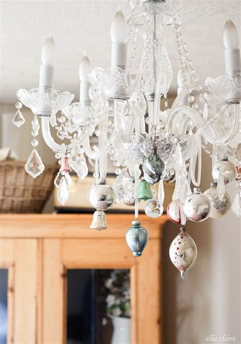 christmas home decor vintage chandelier 17 best ideas about christmas chandelier on pinterest