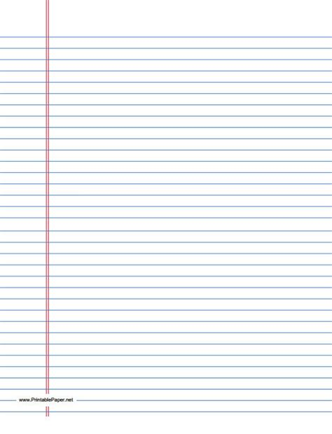 ruled paper template 10 lined paper template sle templates