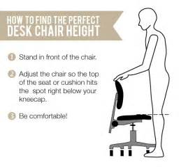 Desk Height To Chair Height Ergonomics How To Find The Ergonomic Desk Chair Height