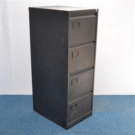 Black Filing Cabinet Black 4 Drawer Filing Cabinet