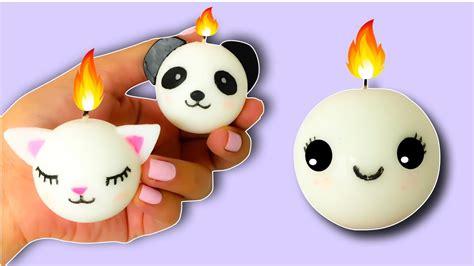 imagenes kawaii de muñecas velas kawaii faciles manualidades para regalar youtube