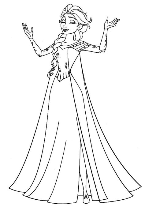 queen elsa coloring pages free frozen queen elsa coloring pages coloring sky coloring