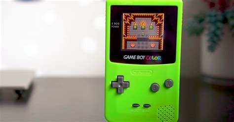 gameboy color screen mod game boy color mod solves the decades old backlighting problem