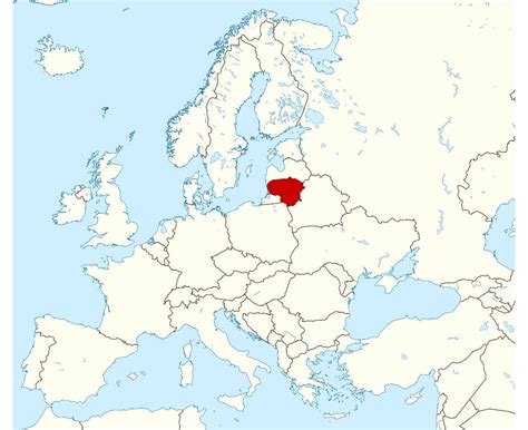 map of lithuania maps of lithuania detailed map of lithuania in