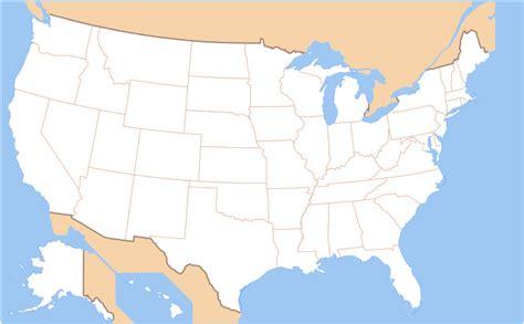 united states map no names aeropuerto internacional de portland la