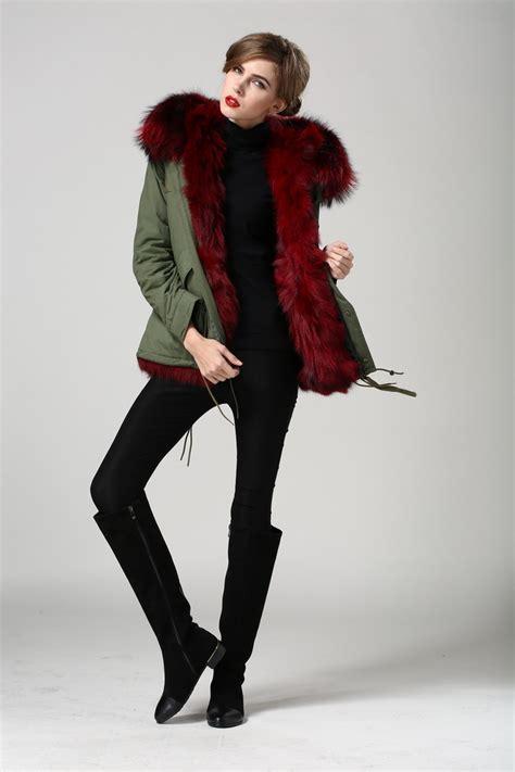 Diddy Makes Fashion Faux Pas With Fur Jacket by Fourrures De Renard Multicolore Femmes Vente Chaude Haute