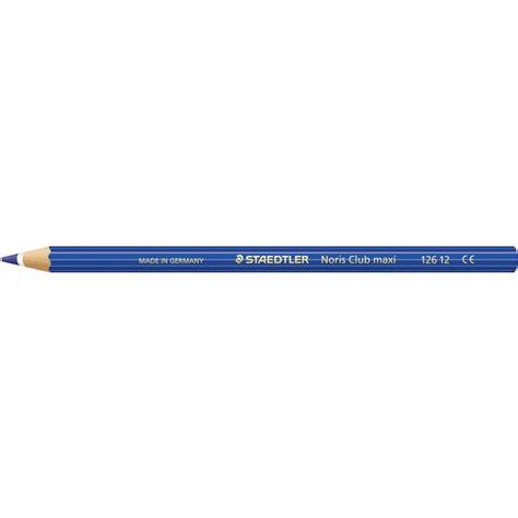 staedtler colored pencils staedtler noris club maxi coloured pencils 12 pack blue