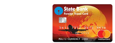 bank of india mastercard using your card state bank of india foreign travel money