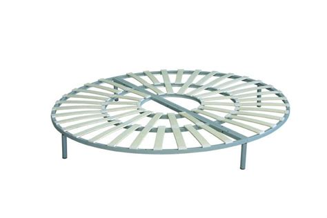 round bed frame round bed with slat on promotion china mainland