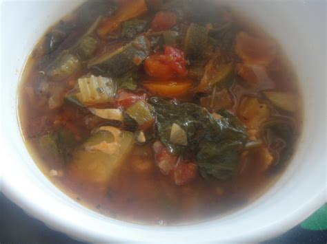 Detox Soup With Kale Spinach Potatoes Carrots by Hearty Bacon Vegetable Soup No Pasta No Beans Spinach