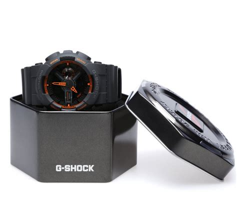 G Shock Black Box Exclusive g shock ga 110ts 1a4 analog digital review