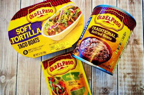 prawn taco boats old el paso taco recipes