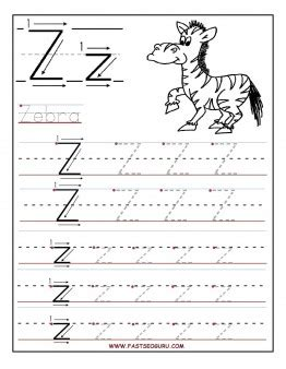 free printable letter x tracing worksheets printable letter z tracing worksheets for preschool