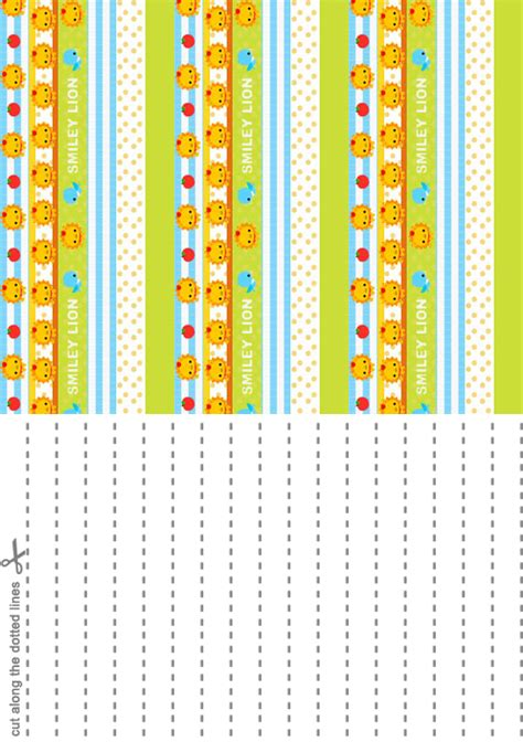 printable paper star strips smiley lion lucky stars strips by blackheartqueen on