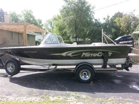 mirrocraft boat reviews mirrocraft boats 1845 dual impact 2006 used boat for sale