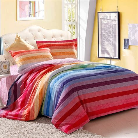 rainbow bedding rainbow bedding 28 images yadidi 100 cotton rainbow owl bedding set cartoon modern