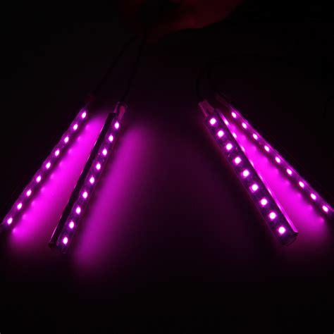 Pink Car Decorative Lights Charge Led Interior Floor