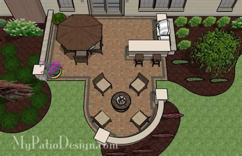 backyard patio layouts patio for backyard entertaining