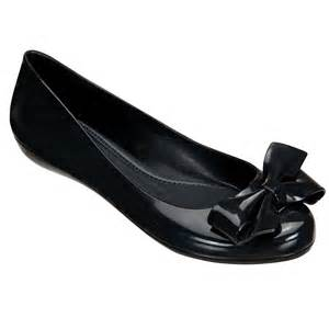 buy mel strawberry black bow flat shoe