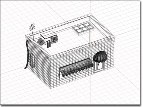 Floor Plan Design 엑소노메트릭 뷰