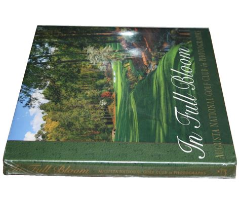 Golf Coffee Table Book Lot Detail In Bloom An Augusta National Golf Club In Photographs Coffee Table Book