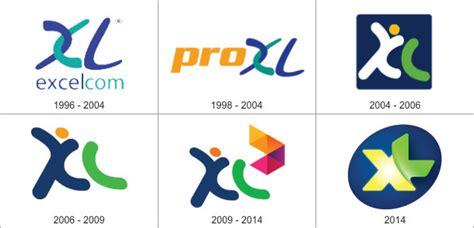 tutorial logo xl baru review logo baru xl axiata idesainesia