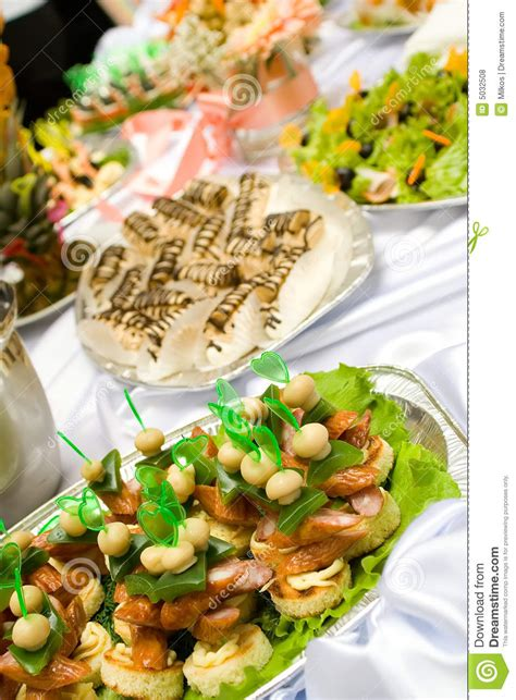 buffet style catering catering buffet style different sandwiches and p stock photo image 5032508