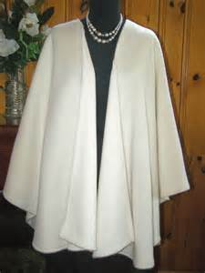 Moca Coat wool moca cape poncho ruana wrap coat matazaro made in usa