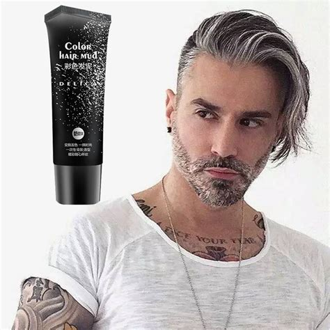 Hair Style Gel With Color by 50 Ml Disposable Silver Gray Color Hair Gel Color