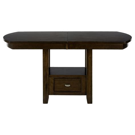 Counter Height Table by Mirandela Birch Counter Height Table 836 78b 836 78t