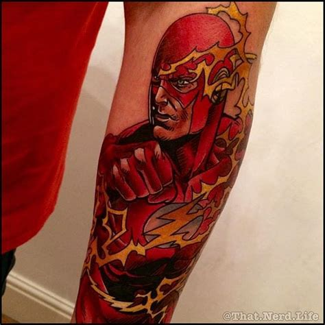 flash tattoo review 10 heroic tattoos of the flash tattoodo