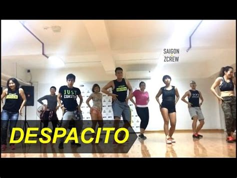 despacito youtube dance despacito zumba 174 saigon zcrew zfit youtube