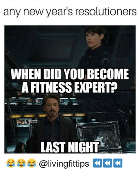 New Year S Gym Meme - any new year s resolutioners when did you become a fitness